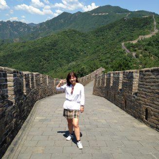 Great Wall, Beijing, China, June, 2014