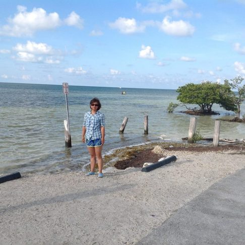 Florida Coast near Key Largo