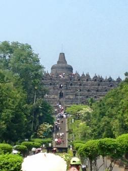 Borobudur, Yogyakarta, Indonesia - UNESCO Buddhist temple